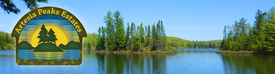 Beautiful and exclusive waterfront lots just 1.5 hours from Ottawa
