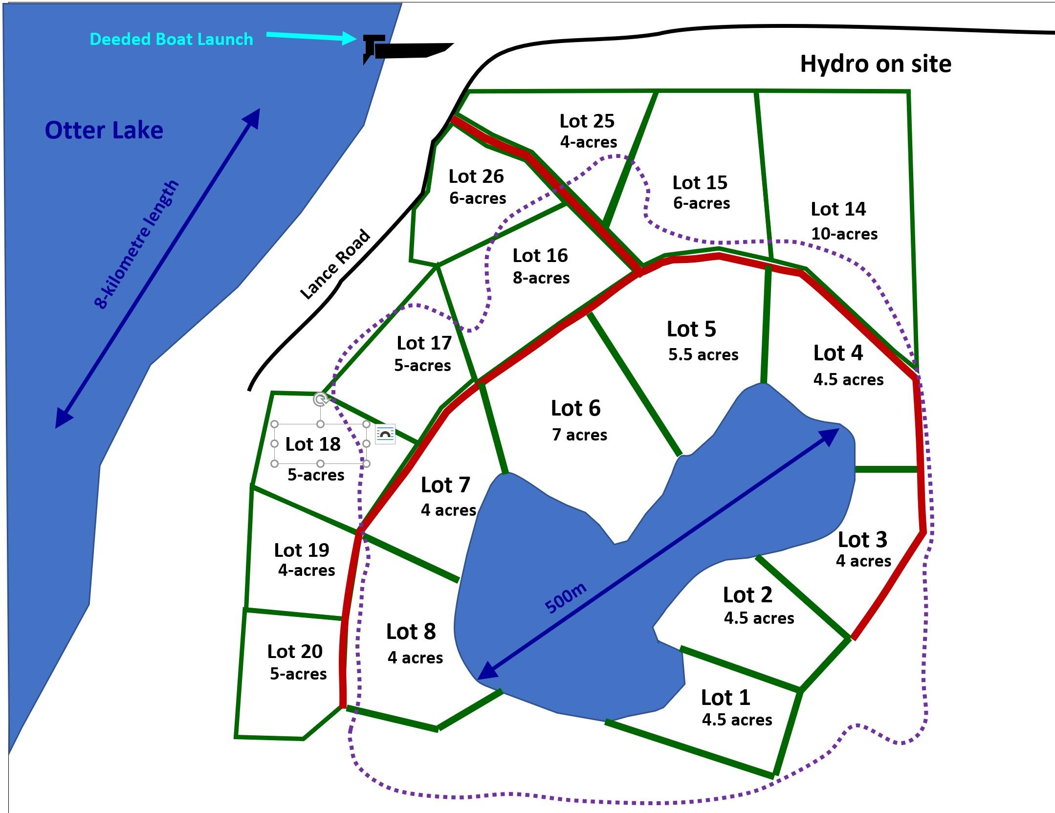 2021-07-01 - Lac Weller Cottage Lots